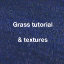 Vray displacement grass + free large grass texture