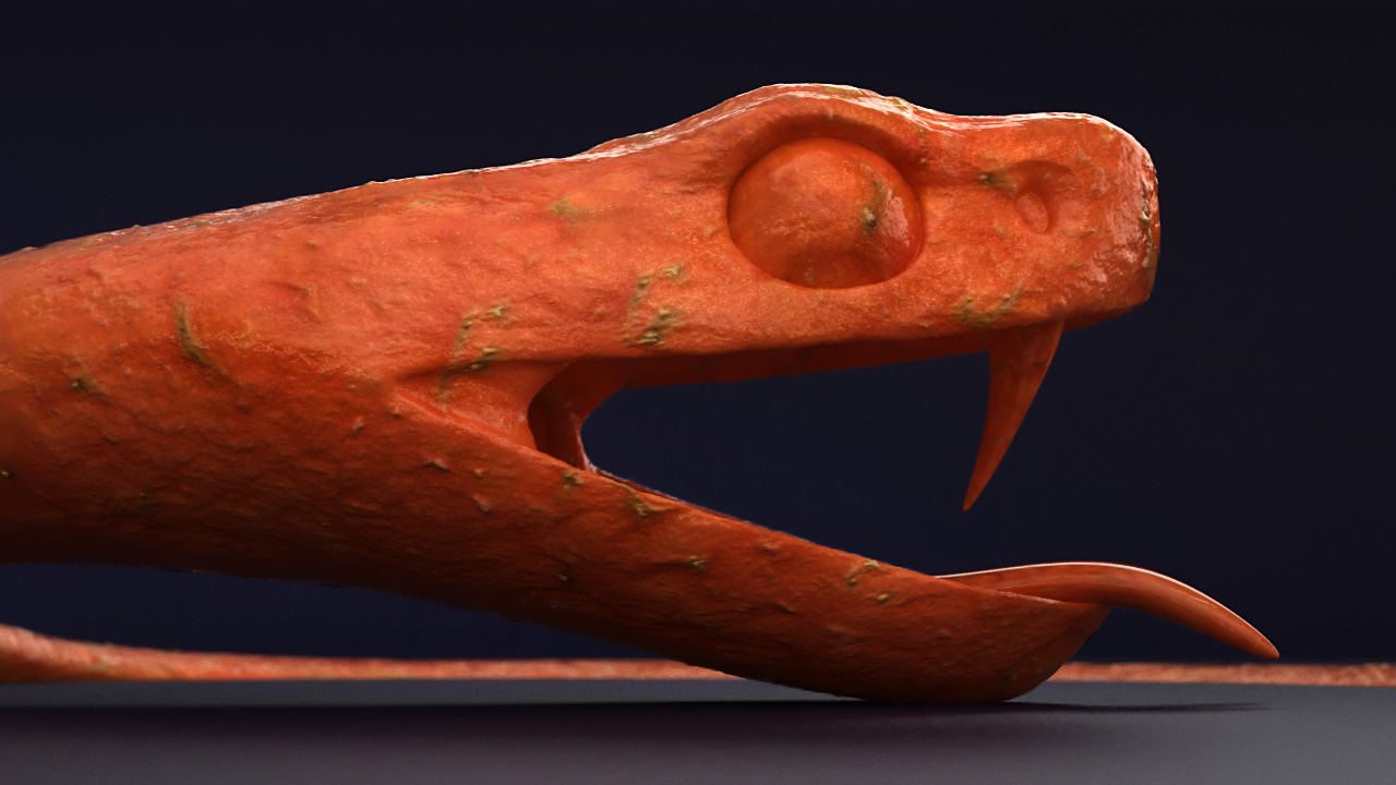 Snake sculpt - Fruity
