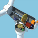 Turbine 3d technical animation