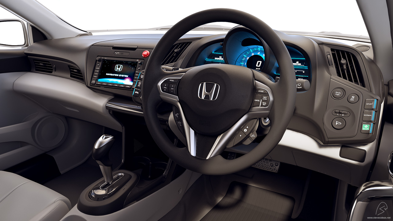 honda cr z interior
